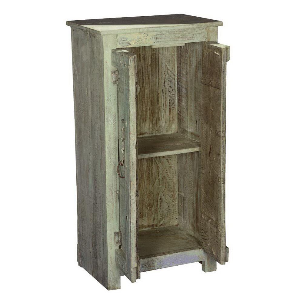 2 Door Storage Cabinet White