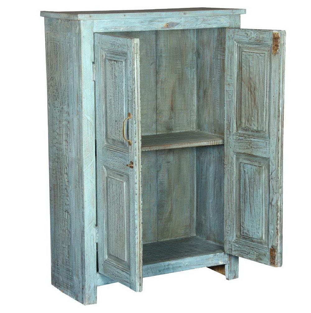 2 Door Wood Storage Cabinet