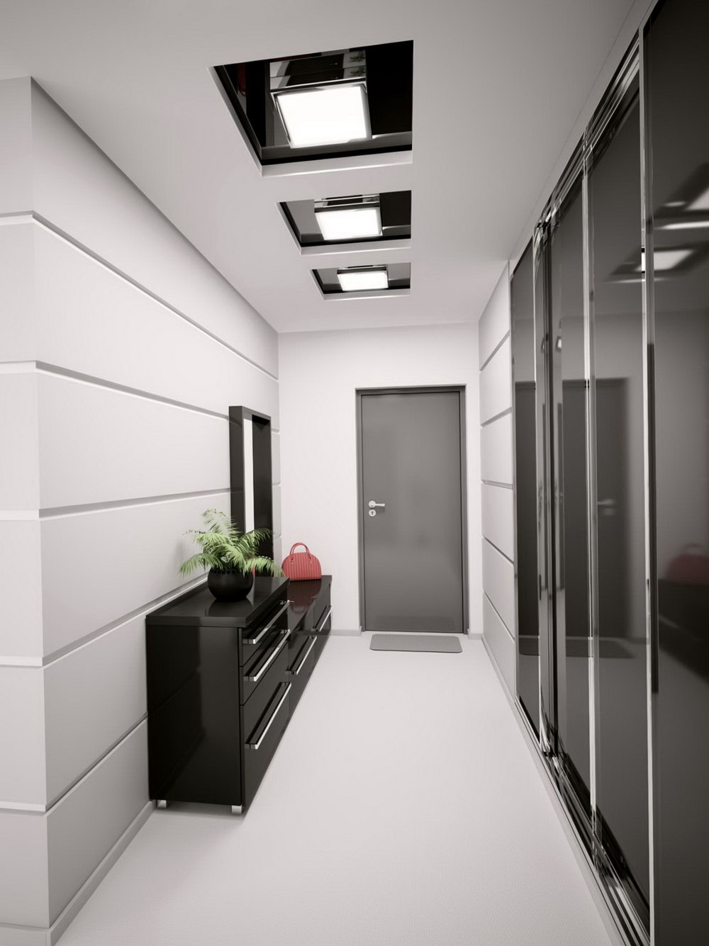 3 Panel Sliding Closet Door