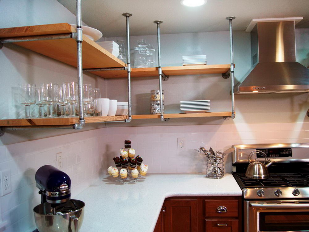 Above Kitchen Cabinet Storage Ideas
