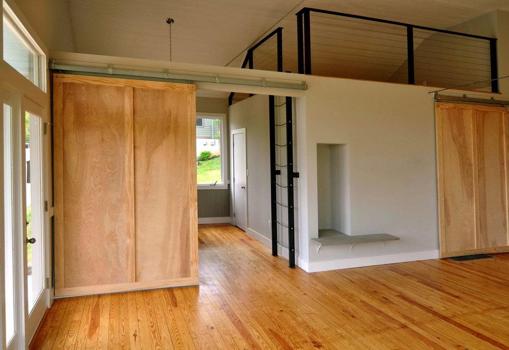 Barn Wood Closet Door