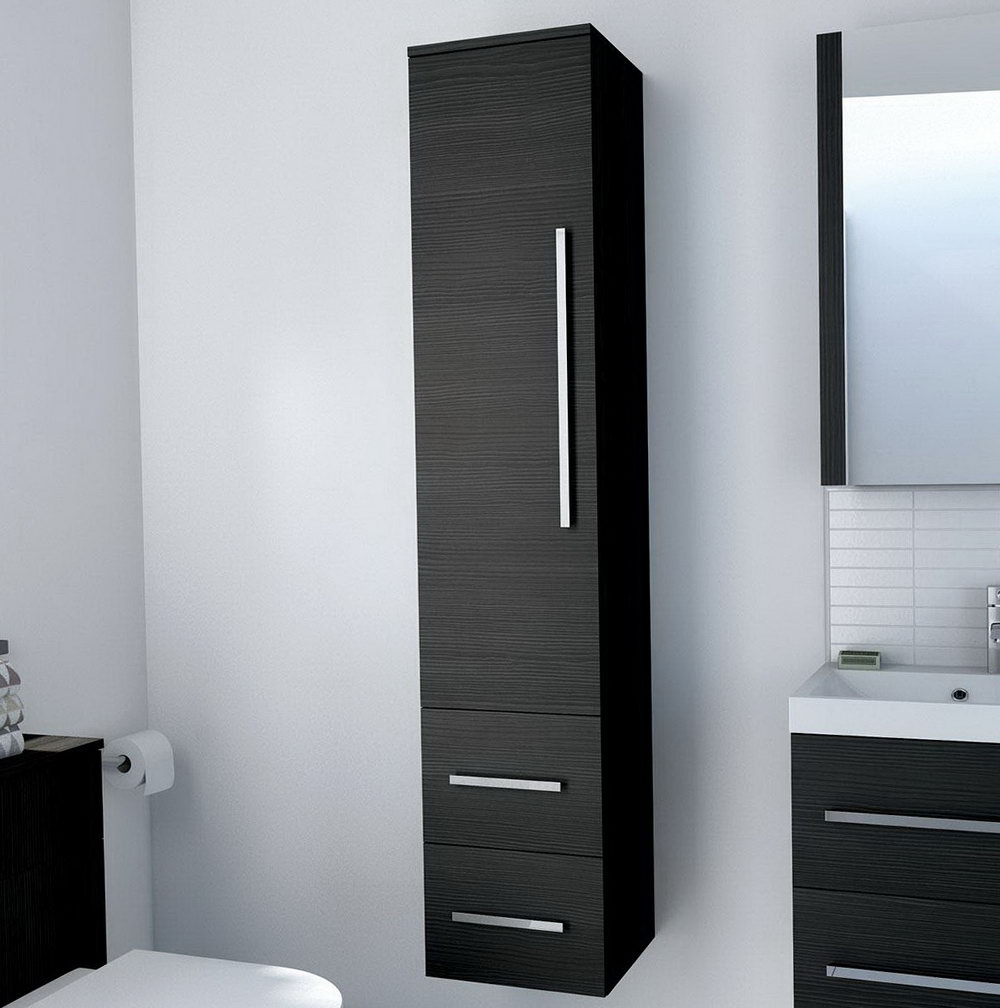 Bathroom Storage Cabinet Grey