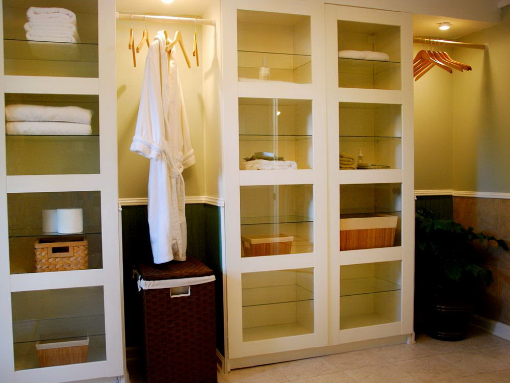 Bathroom Storage Cabinets Built In