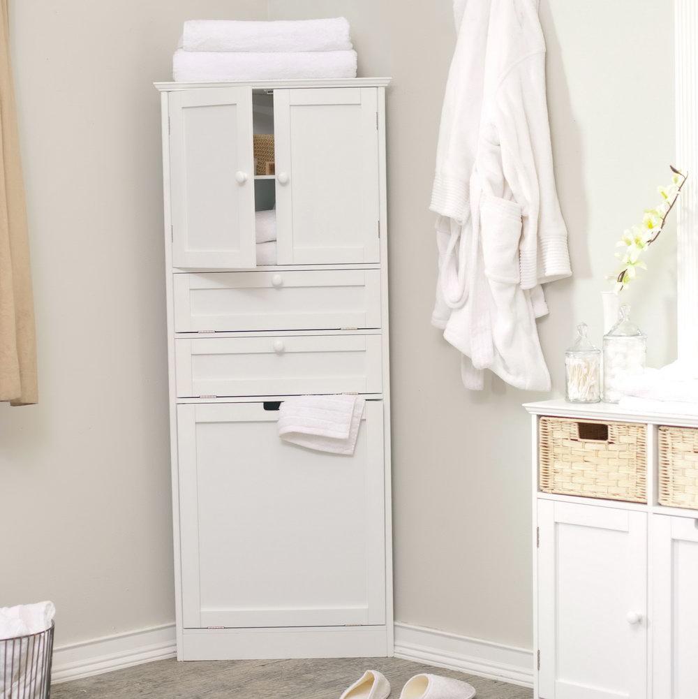 Bathroom Storage Cabinets White