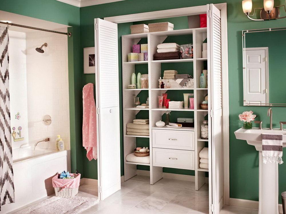 Bathroom Storage Closet Ideas