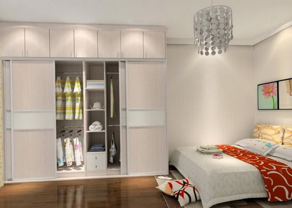 Bed With Closet Space