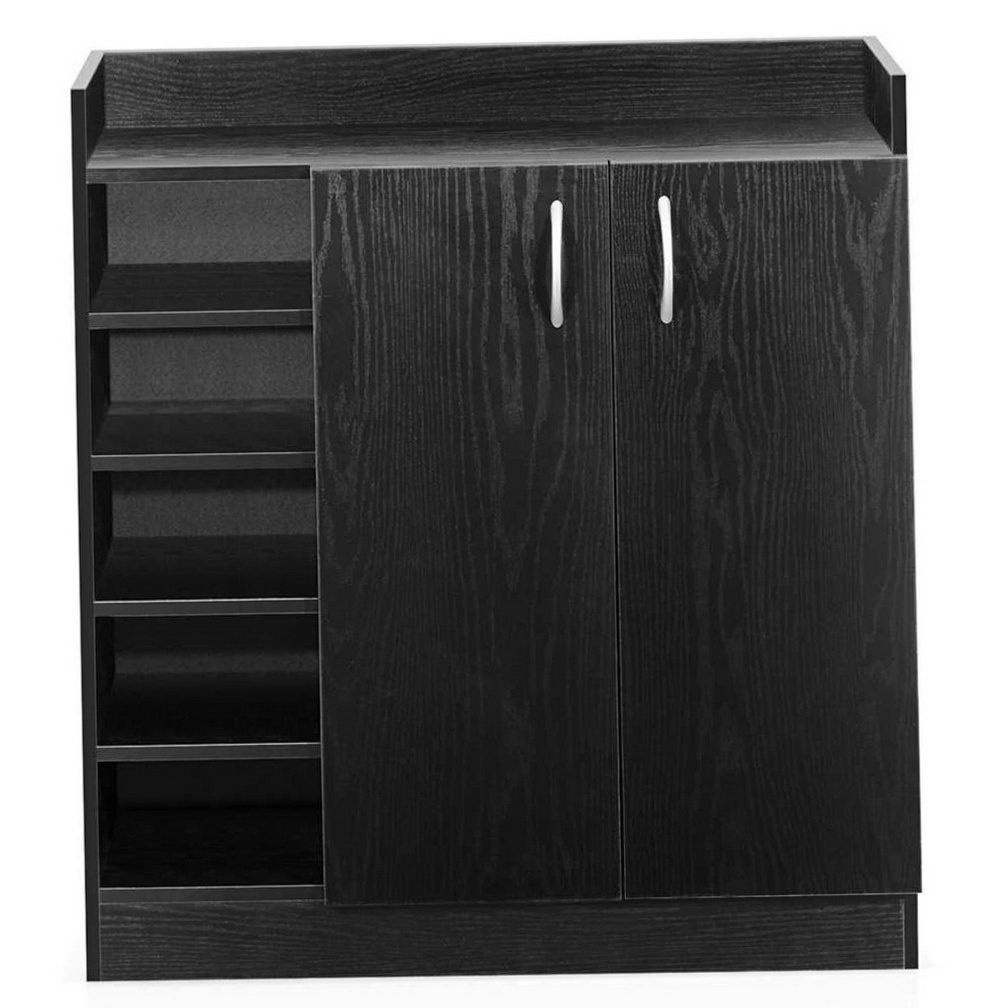 Black Storage Cabinets With Doors