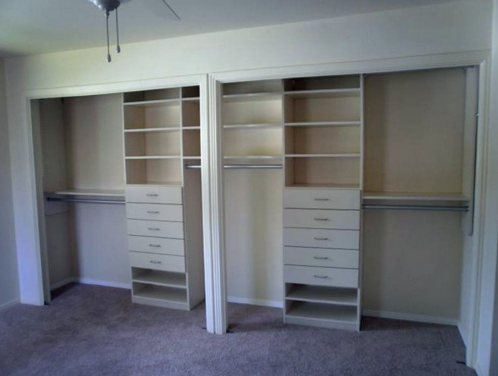 Built In Bedroom Closet Designs