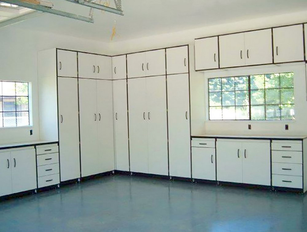 California Closets Garage Cabinets