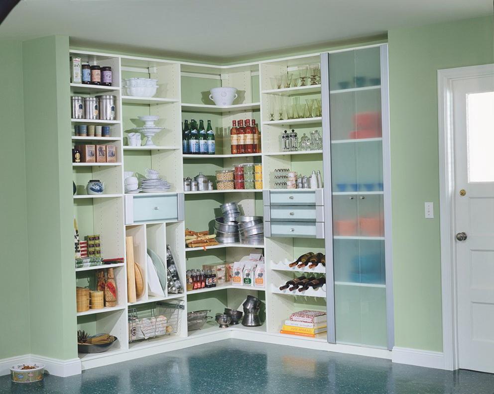 California Closets Pantry Design