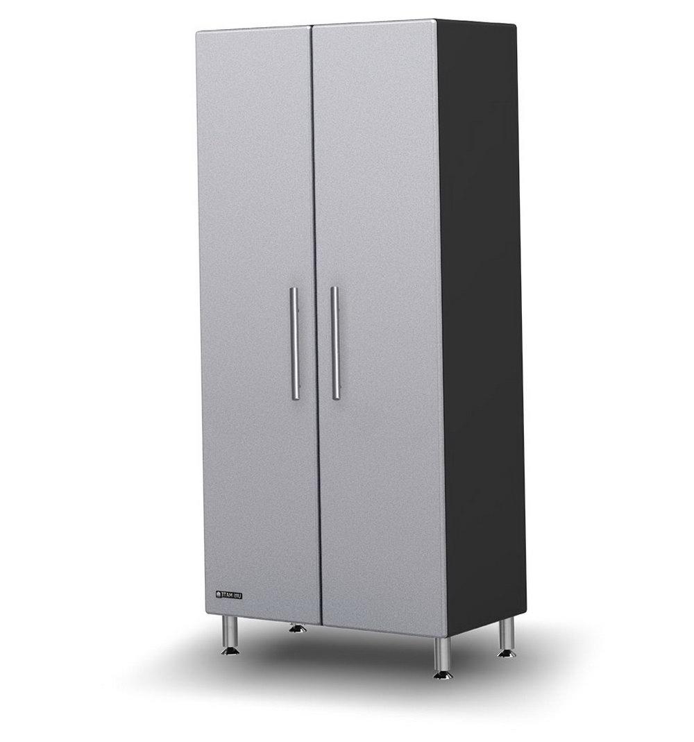 Cello Idea Storage Cabinet Black Grey