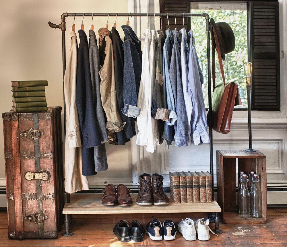 Closet Clothes Hanger Ideas