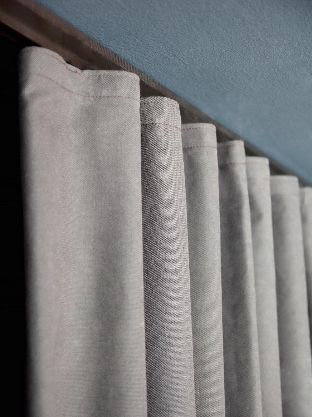 Closet Door Curtain Ideas Pinterest