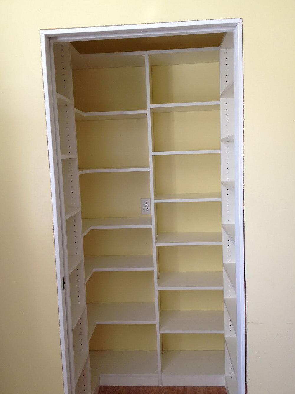 Closet Pantry Shelving Ideas