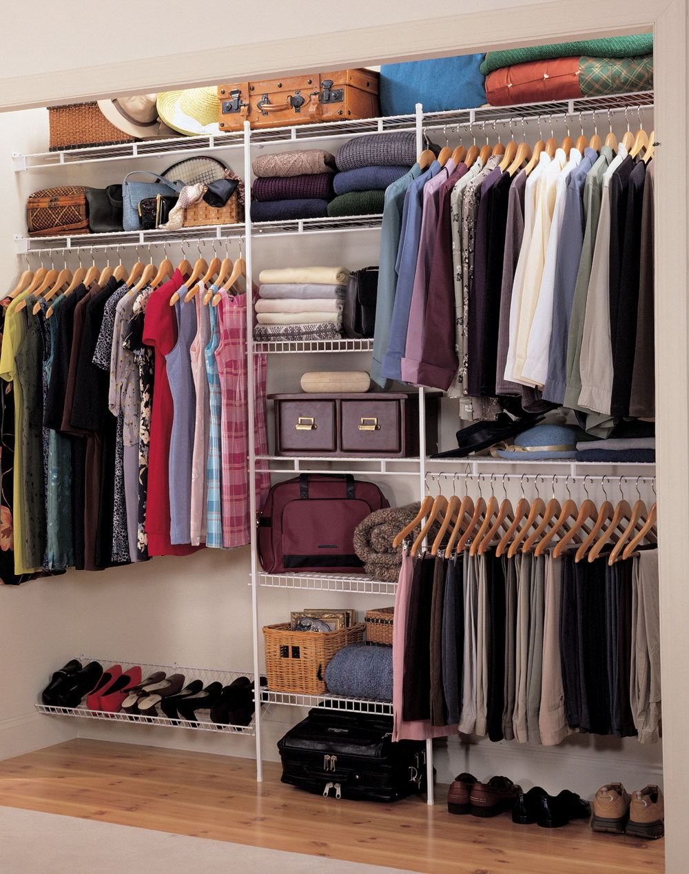 Closet Wire Shelf Height