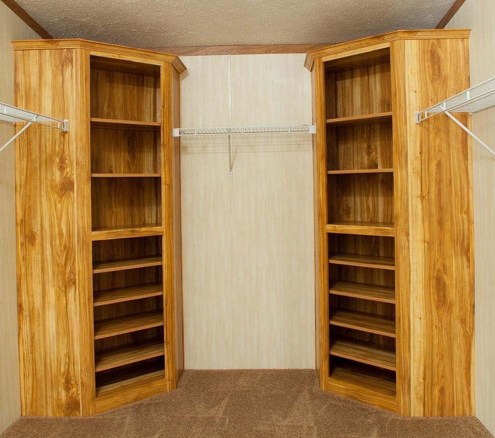 Corner Closet Shelving Ideas