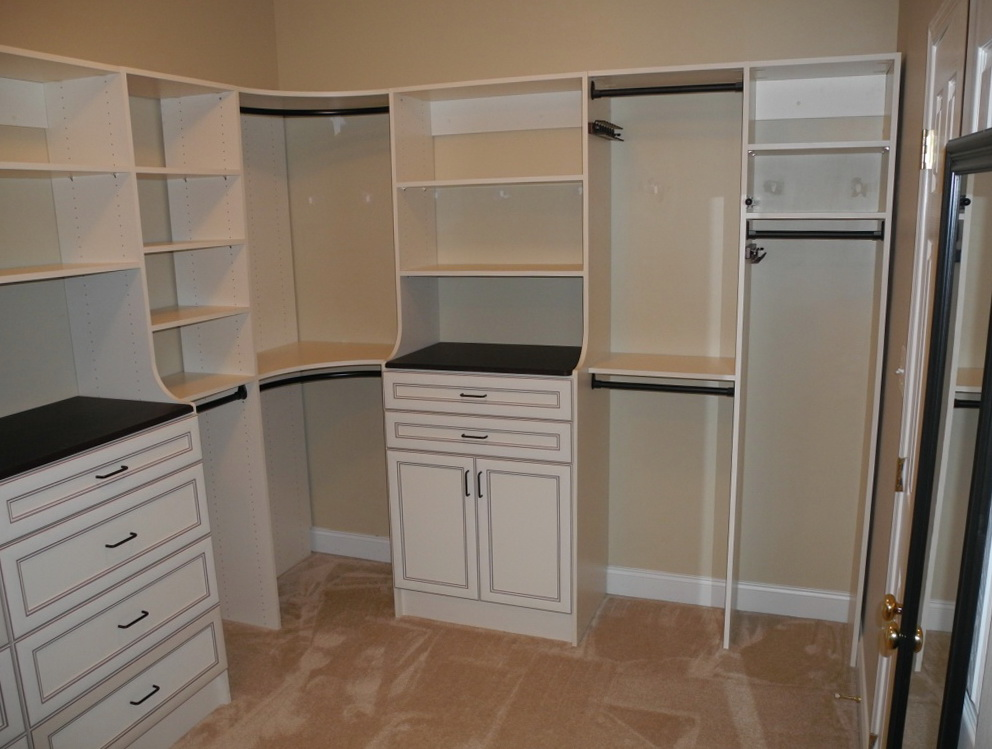 Corner Closet Storage Solutions