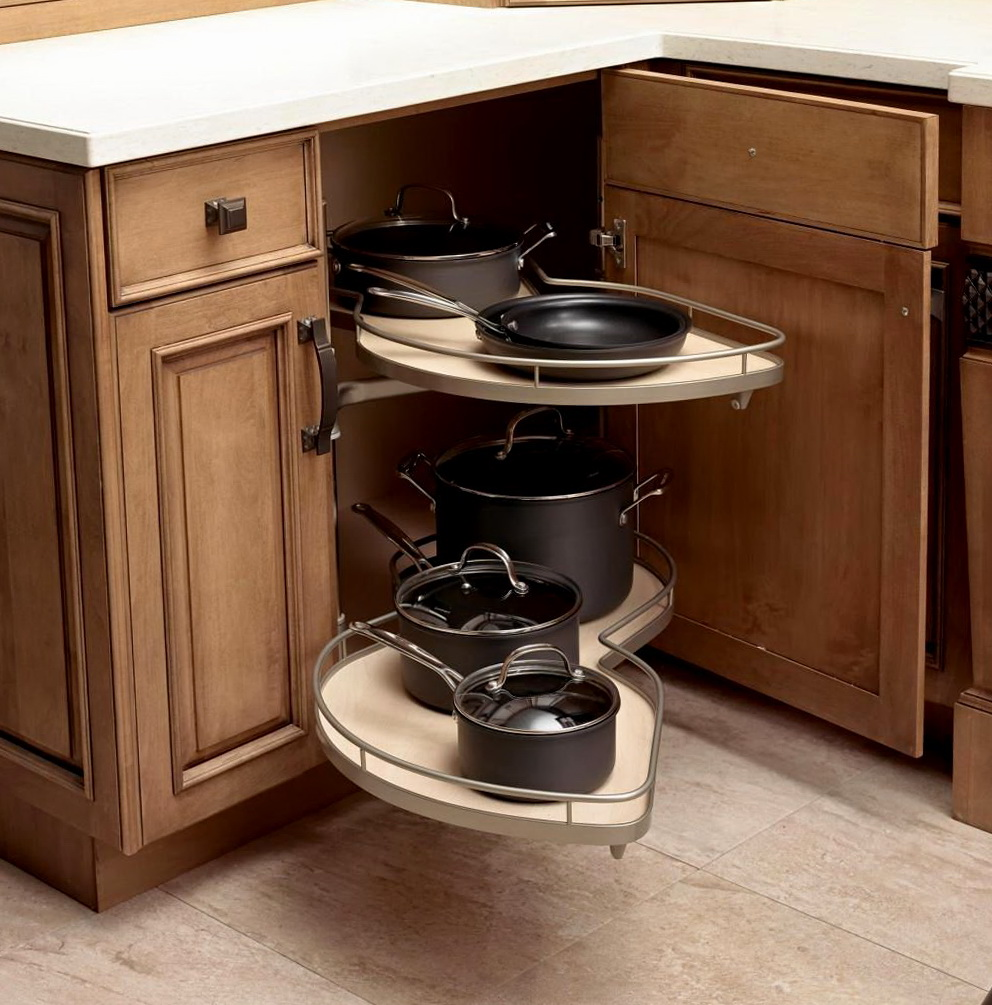 Corner Kitchen Cabinet Storage Solutions