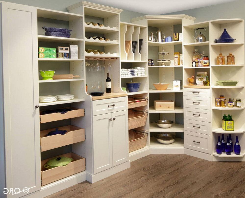 Corner Pantry Closet Design