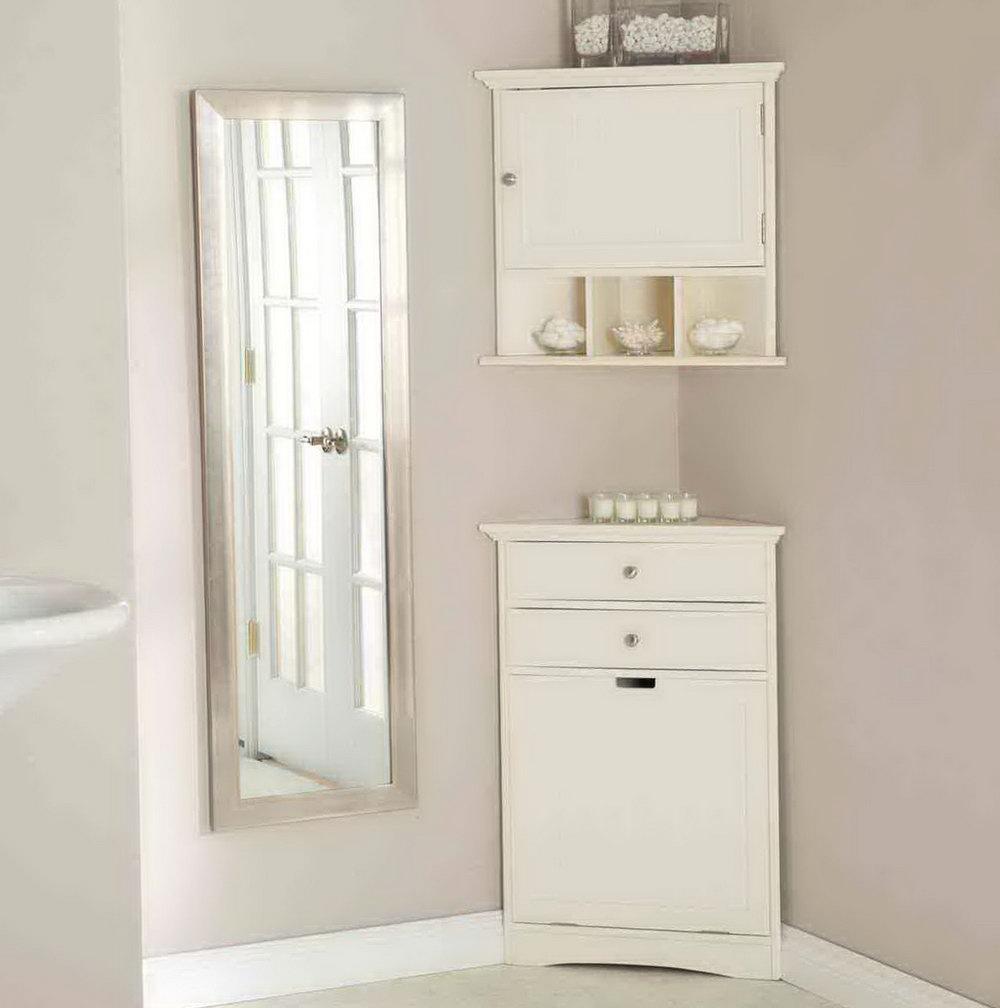Corner Storage Cabinet Bathroom