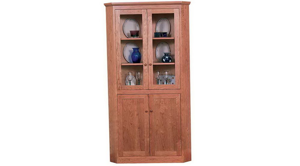 Corner Storage Cabinet With Doors