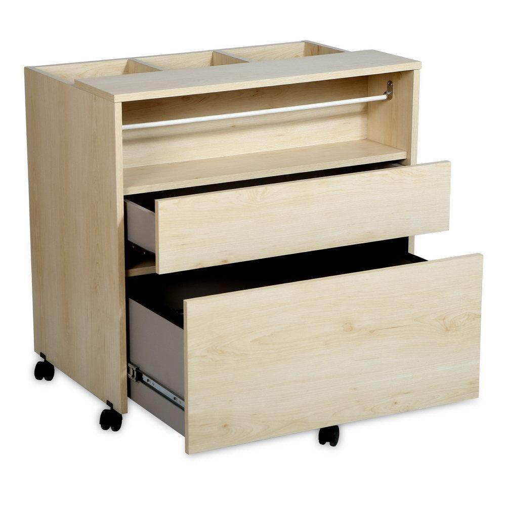 Craft Storage Cabinet On Wheels