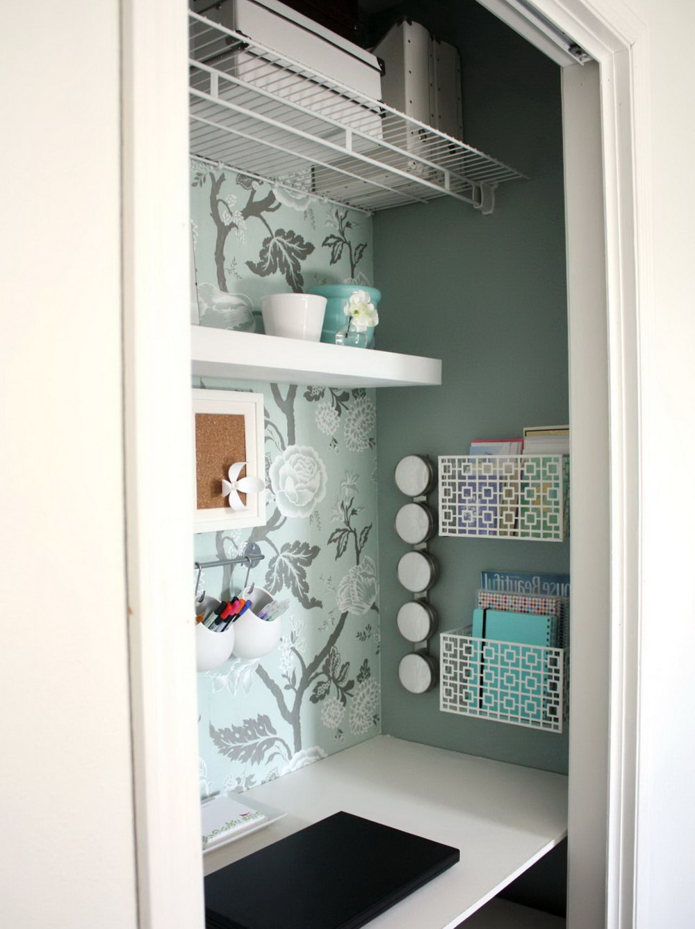 Desk In A Closet Ideas