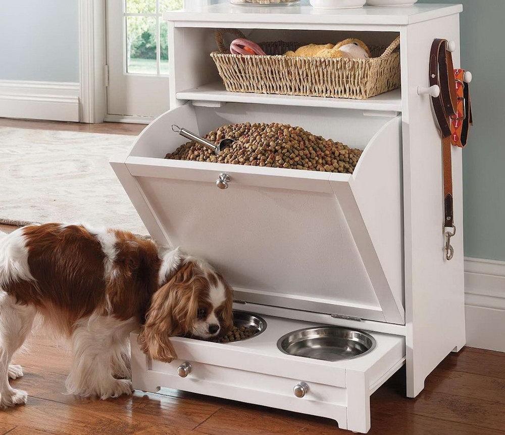 Dog Food Storage Cabinet Plans