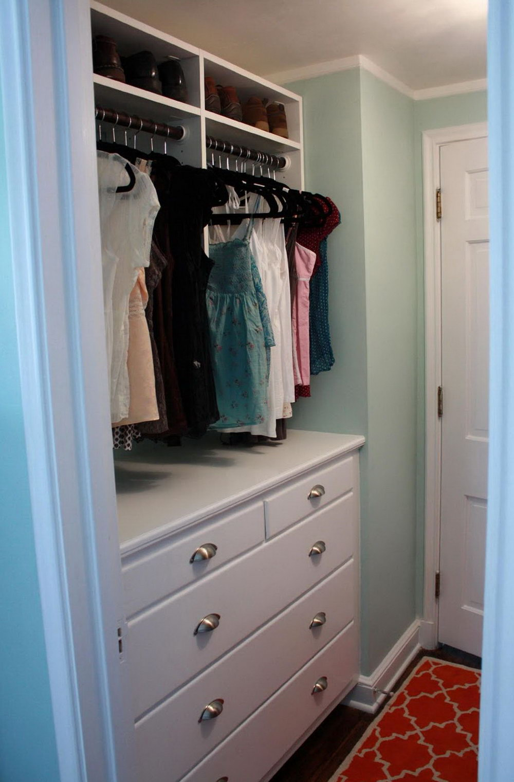 Drawer System For Closet