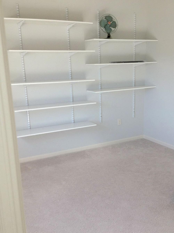 Easy Closet Shelves Diy