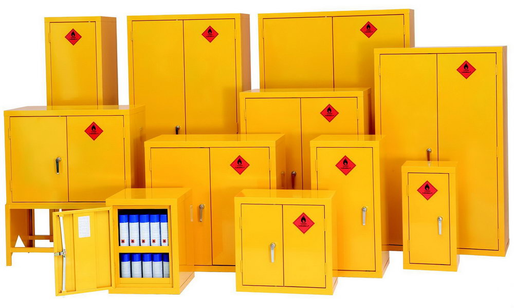 Flammable Gas Storage Cabinets
