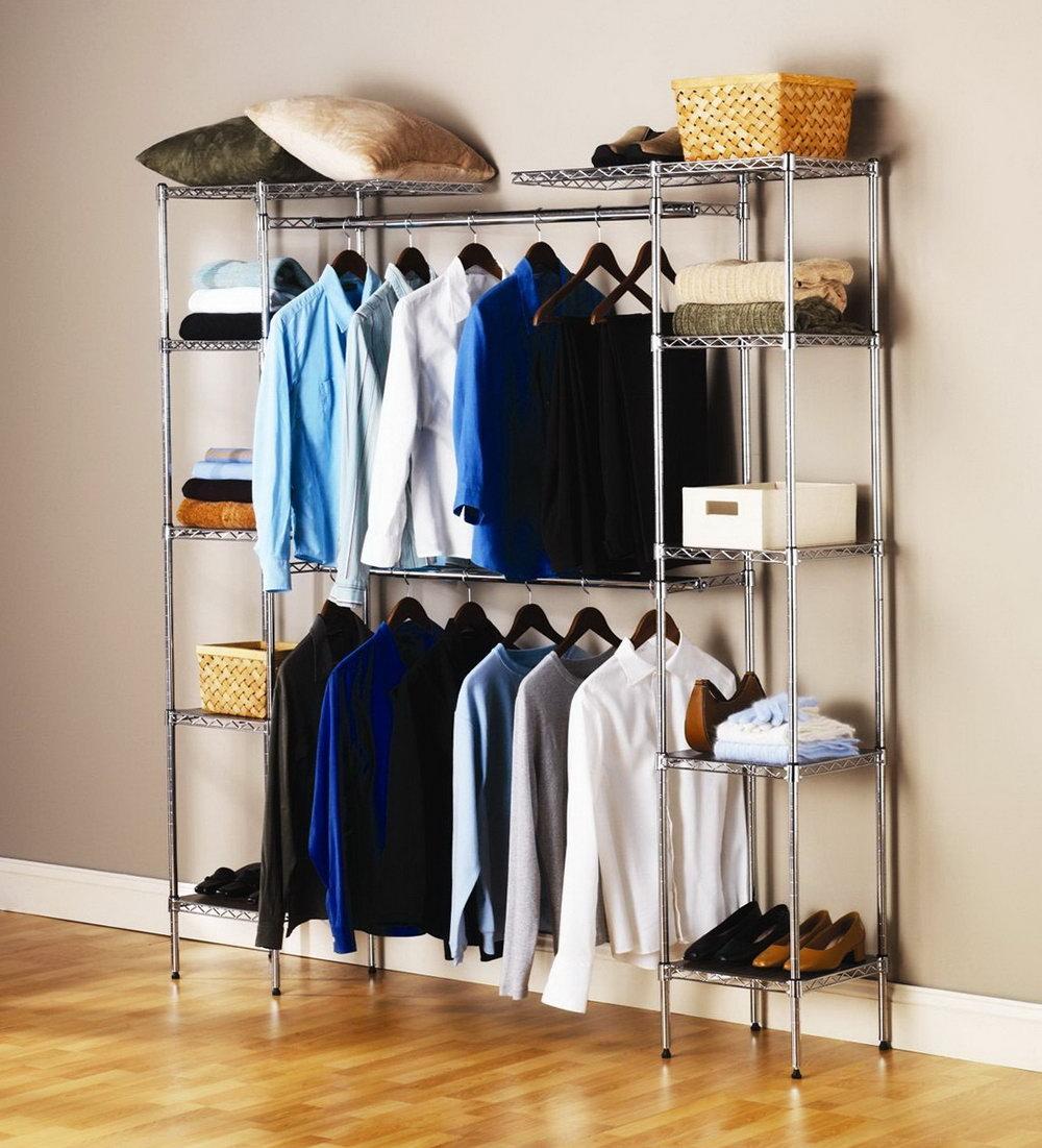 Free Standing Closet Storage Solutions