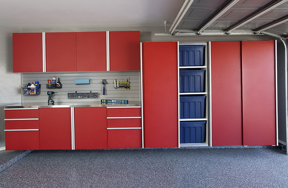 Garage Storage Cabinets With Sliding Doors