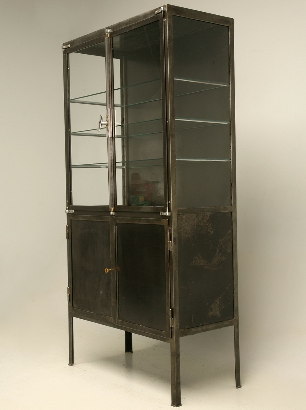 Glass Front Storage Cabinets