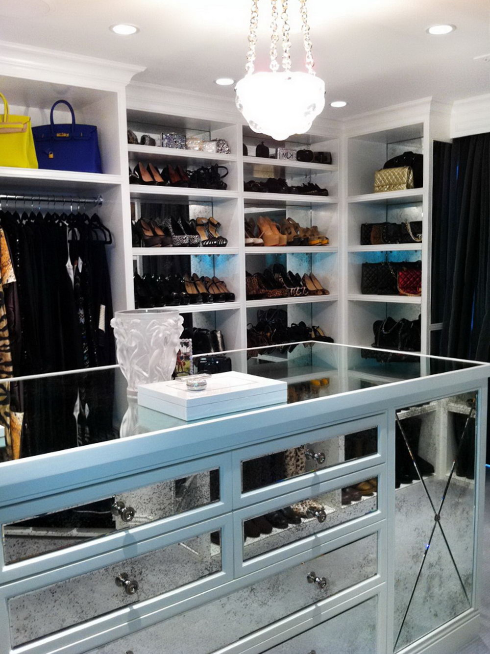 High End Closets Designs