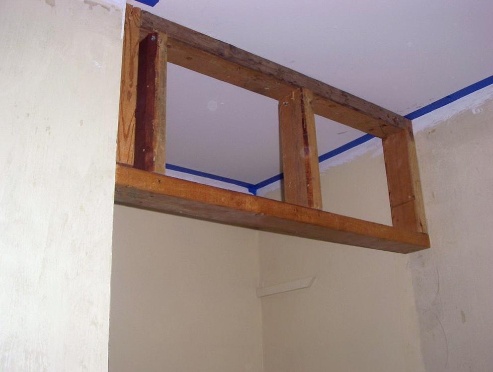 How To Build A Closet Door Header