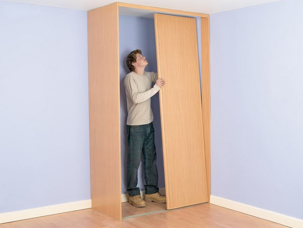How To Make A Closet Door Out Of Plywood