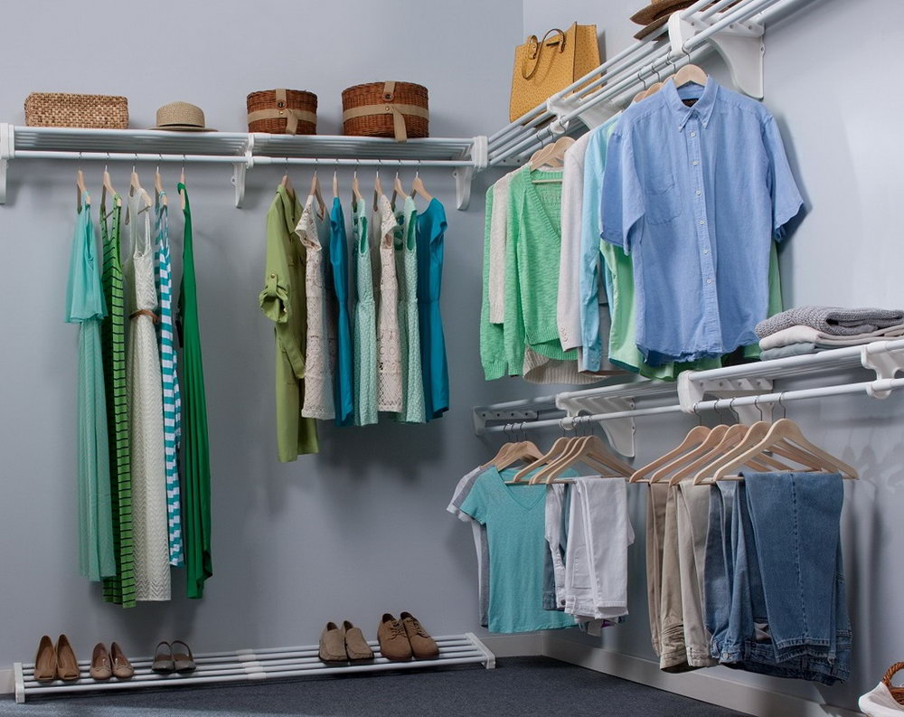 Ideas For Small Walk In Closets