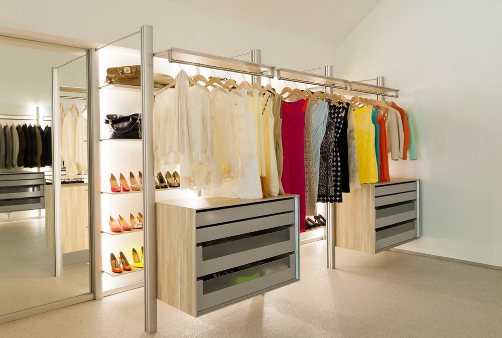 In Wall Closet Ideas