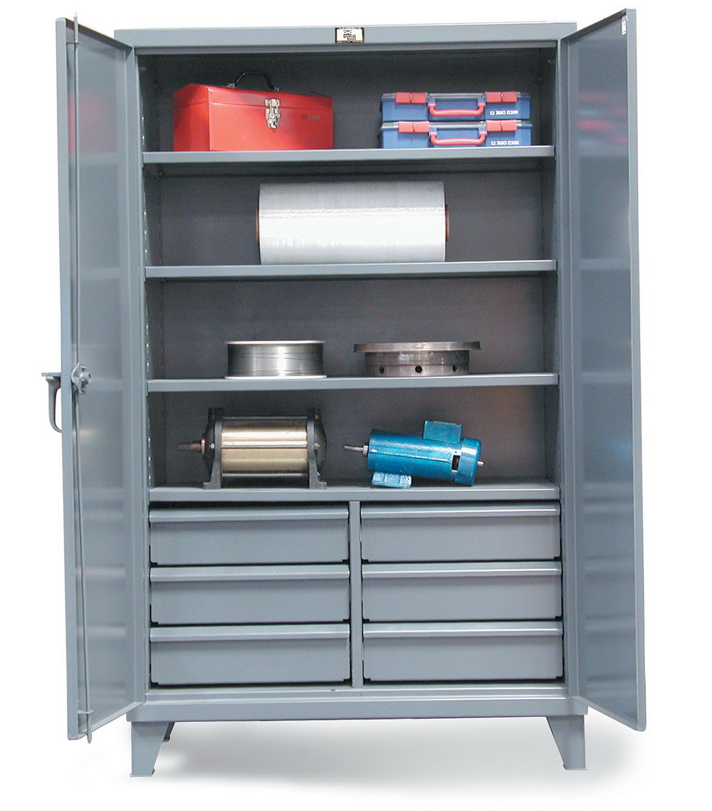 Industrial Style Storage Cabinets
