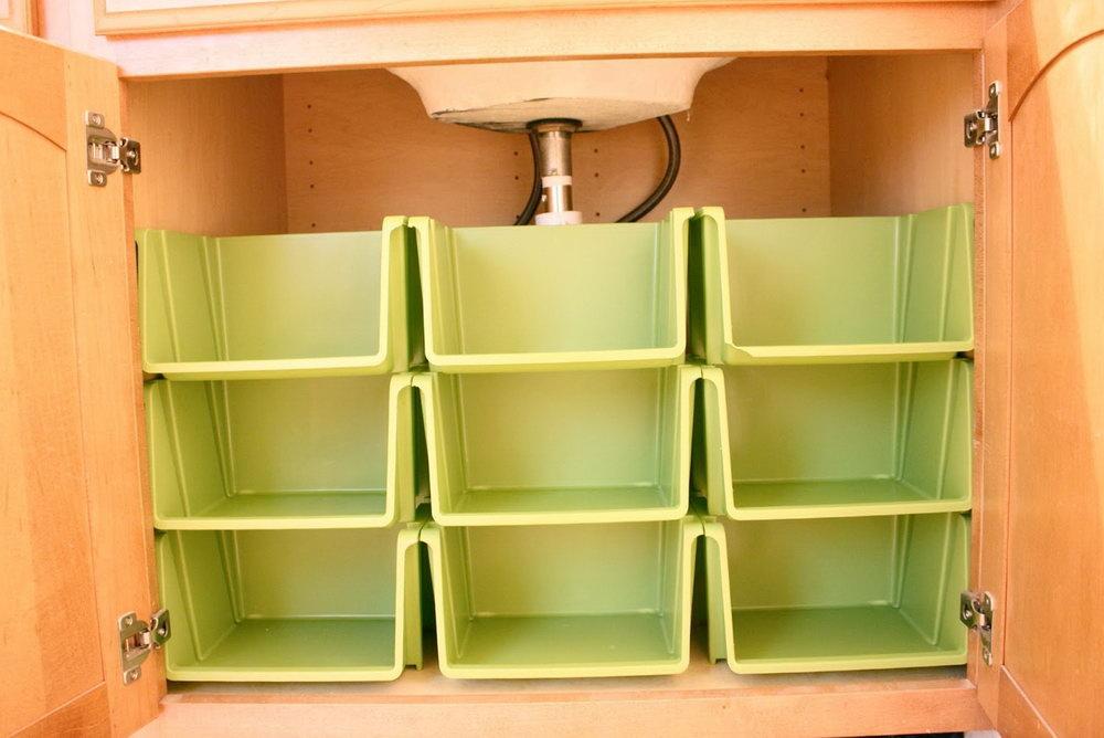 Inside Bathroom Cabinet Storage