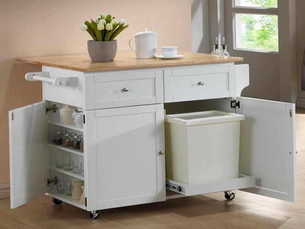 Kitchen Appliance Storage Cabinet