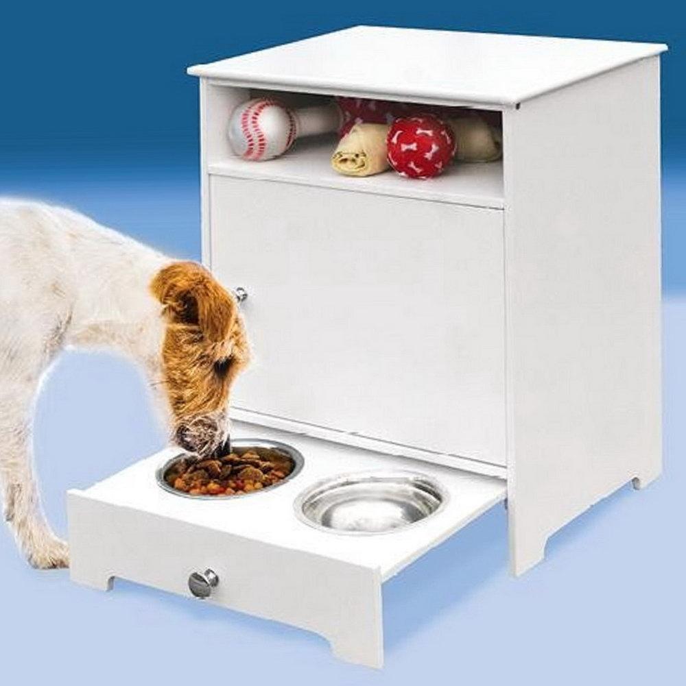 Kitchen Cabinet Dog Food Storage