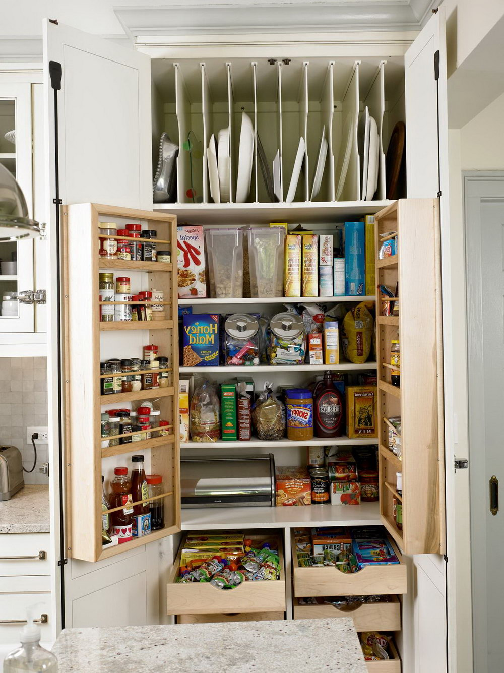 Kitchen Cabinet Storage Ideas Images
