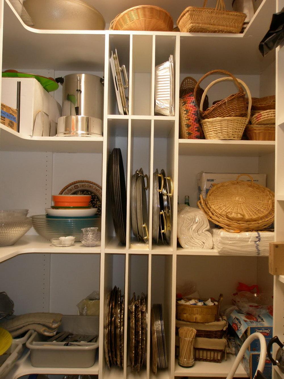 Kitchen Closet Shelving Ideas