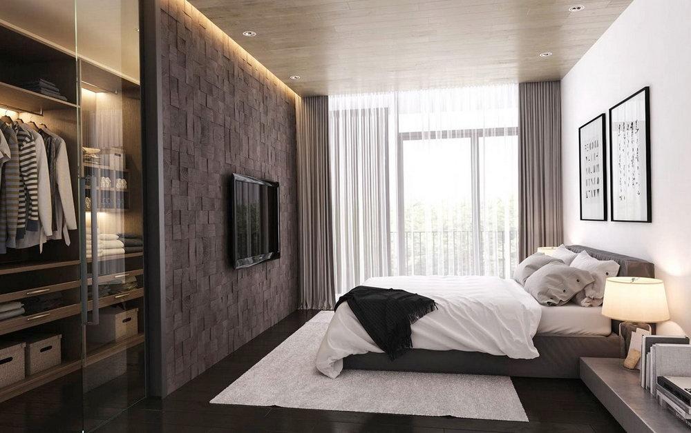 Master Bedroom Design With Walk In Closet