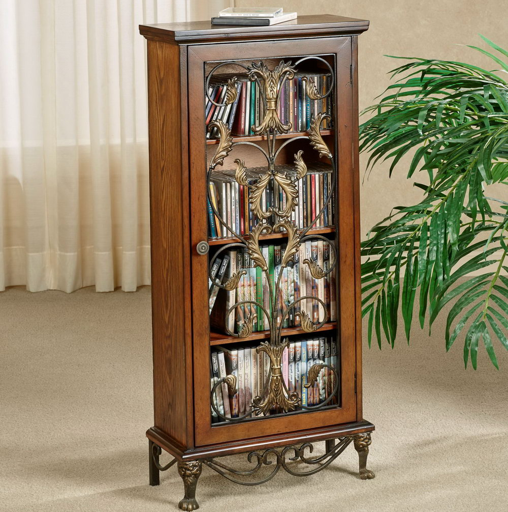 Media Storage Cabinets With Doors