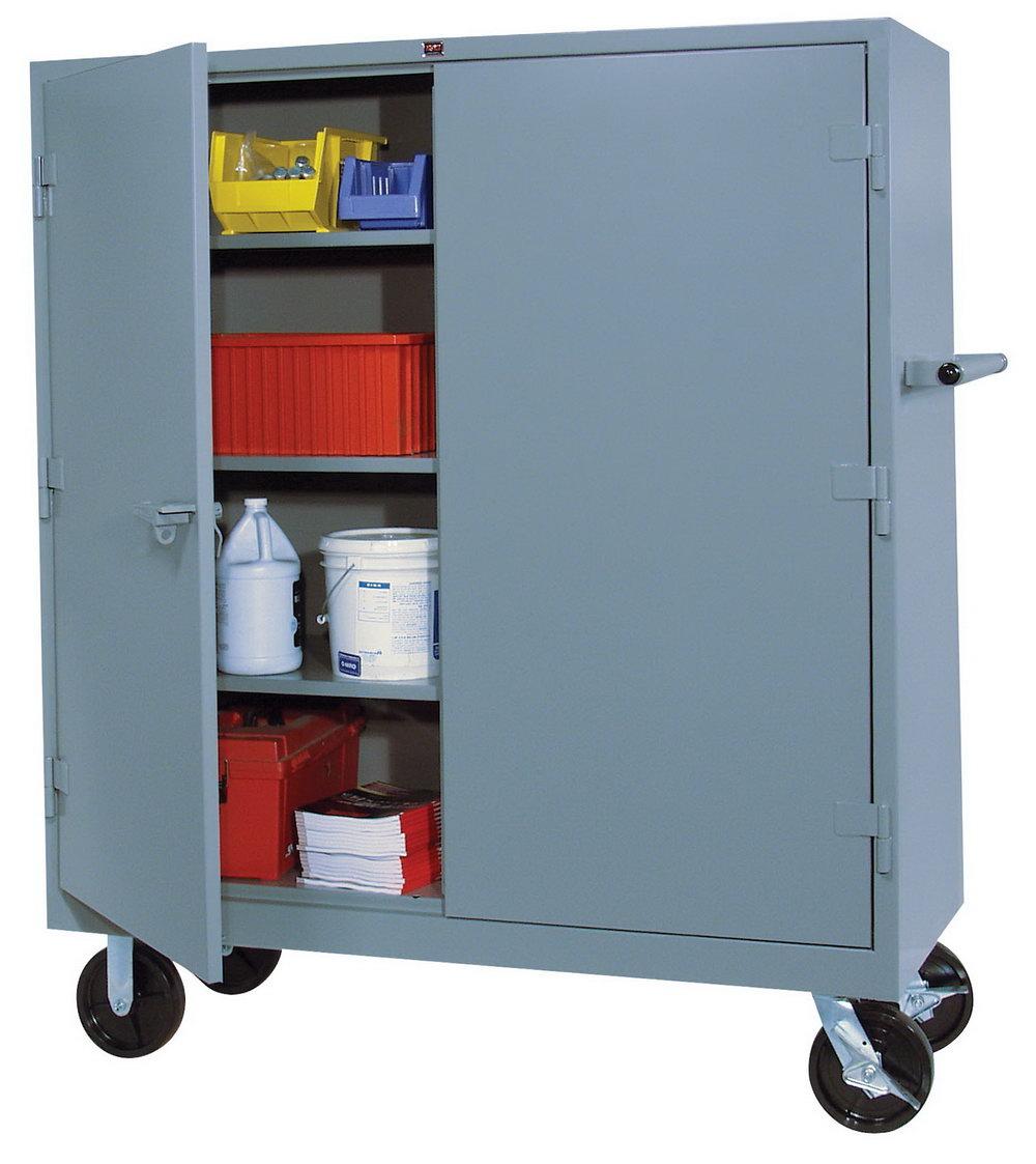 Metal Storage Cabinet On Wheels