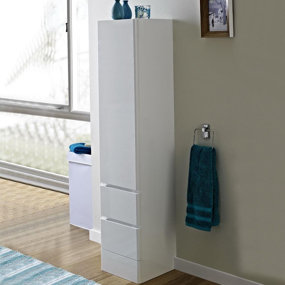 Modern Tall Storage Cabinet