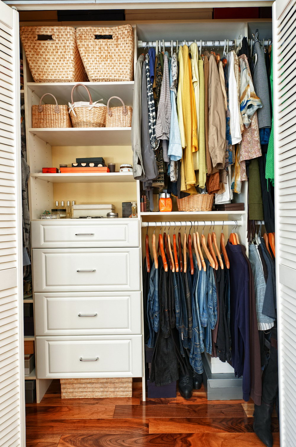 Organization For Small Closets